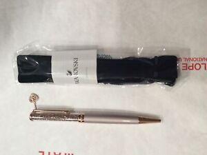 Swarovski Crystalline Heart Ballpoint Pen (White/Rose Gold Plated) 5527536