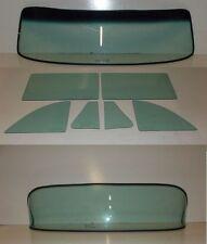 1953 1954 CHEVROLET 2 DOOR SEDAN WINDSHIELD VENT DOOR QUARTER BACK GLASS GREEN