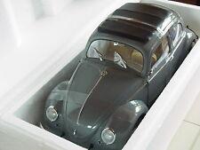 VW Käfer Beetle Saloon grau Brezelkäfer 1950 1:12 SunStar 5202 Rarität