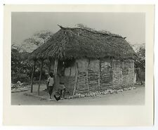Haitian History - Caille, Port au Prince - Vintage 8x10 Photograph - 1973