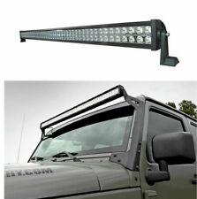 "For Jeep Wrangler JK 2007-2018 Hummer H3 H3T 2006-2010 52"" LED LIGHT BAR 1080W"