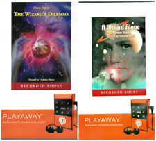 2 Rare Diane Duane Audio Bks A Wizard Alone + The Wizard's Dilemma Preloaded VGC