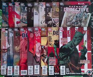 Detective Comics #847-865 2008 DC Comics Batman Batwoman Black Mask Catwoman