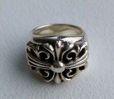 100% Authentic Chrome Hearts Keeper Ring Rare 21 grams