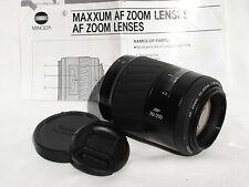 MINOLTA Maxxum AF 70-210mm F4.5-5.6 Lens for MINOLTA MAXXUM, SONY ALPHA