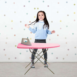Kids Pink Ironing Board Children Girls Pretend Role play Fun Xmas Gift Set 50cm