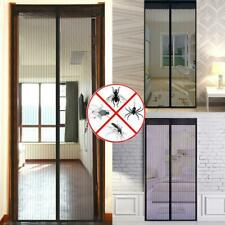2 Pack Magnetic Screen Door Curtain Mosquito Bugs Insects Keep Out