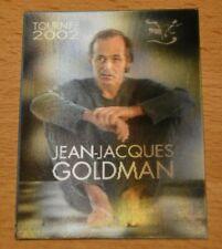 Jean-Jacques Goldman - ticket concert Forêt National Bruxelles 2002 - hologramme