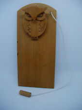 OWL Wooden Notepad Wall Holder