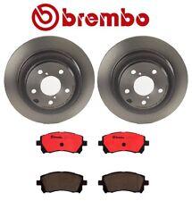 NEW Brembo Front Brake Kit Disc Rotors Ceramic Pads For Subaru Legacy Forester
