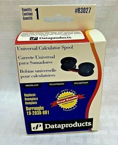 Dataproducts Universal Calculator Spool Ribbon Black Red