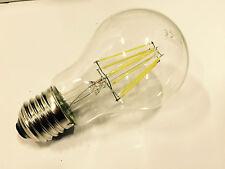 Paquete De 2 De Led E27 Alta Potencia filamento Lámpara 8w A60 6000k Luz del día de salida