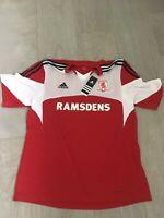 BNWT Men's Middlesbrough FC home Football shirt Adidas size XL number 22