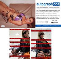 CARMEN ELECTRA signed Autographed 8X10 PHOTO c PROOF Playboy SEXY Baywatch ACOA