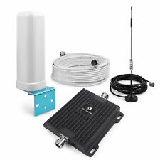 New listing 2G 3G 4G 850/1900Mhz Cell Phone Signal Booster Mobile Repeater Kit Fast Shipping