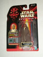 Star Wars Episode 1 Phantom Menace Jedi Mace Windu With Lightsaber Mosc