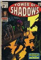 Tower of Shadows #3 ORIGINAL Vintage 1969 Marvel Comics Horror Barry Smith