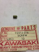 Kawasaki Z1 KZ400 KZ1000 Seat Lock Screw 92014-016 NOS