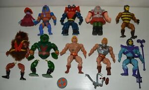 LOT Figurines MOTU MASTERS OF UNIVERS Musclor 1984 83 MATTEL Vintage