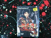 Onimusha 2 PS2 PlayStation 2 Samurai Adventure Game