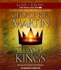 A Song of Ice and Fire: A Clash of Kings Bk. 2 by George R. R. Martin (2011, CD,