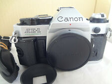 Canon AE-1 Program SLR Camera with strap light seal renew from Japan exc++++2564