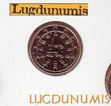 Portugal 2009 - 1 Centime D'Euro FDC provenant du coffret 18000 exemplaires