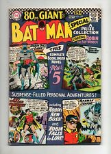 Batman #185 80 PAGE GIANT G-27! VF 8.0 1966 OFF-WHITE PAGES & GORGEOUS!