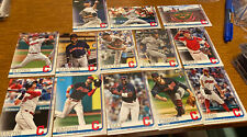 Cleveland Indians - 2019 TOPPS SERIES 2 COMPLETE TEAM SET Carlos Santana