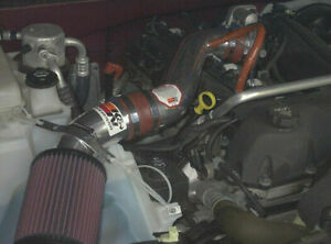 BCP RED 02-05 Trailblazer Bravada Envoy 4.2L V6 Short Ram Intake + Filter
