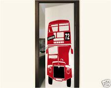 00084 Wall Stickers Adesivi Murali Londra Autobus London bus 80x120cm