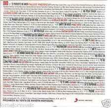 rare DVD PROMO ONLY Thalia & Price Royce OREJA DE VAN GOGH Marc Anthony CHAYANNE