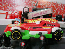 2013/2014 ULTIMATE RACING Design Ex MED-EVIL✿Red/Green; 4✿LOOSE✿Hot Wheels Race