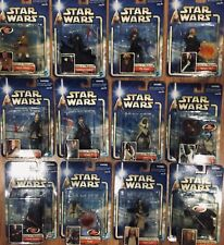 💥 Lot of 12  Action Figures - Attack Of The Clones Jedi Knights Sith  Star Wars