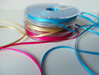 3mm Double Sided Satin Ribbon - choose colour and length
