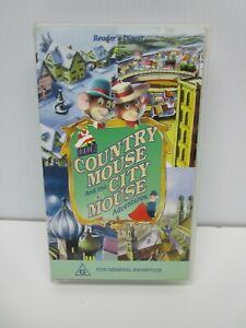 VHS Tape, Country Mouse and the City Mouse Adventures, Children's G