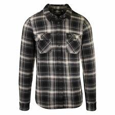 Harley-Davidson Men's Grey Black Plaid L/S Woven Shirt (S44)