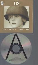 CD--U2 THE BEST OF 19780-1990 PROMO CS