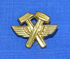 Bulgarian Army Air Force Technically Staff Insignia Pin BADGE