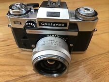 ZEISS IKON CONTAREX ELECTRONIC SLR  FILM CAMERA DISTAGON 1:4 f=35mm LENS