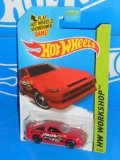 Hot Wheels 2015 HW Drift Race #239 Toyota AE-86 Corolla Red w/ MC5s