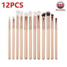 12PCS Professional Eyeshadow Blending Pencil Eye Brushes Set Make-up Tools cckk