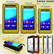 100% Love Mei Hybrid Aluminium Heavy Duty Extreme Gorilla Case For Sony Z1-Z5 X