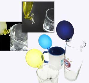 CLIP CLAP UNIVERSAL GLAS KLAPPDECKEL Bierglas Trinkglas Tasse Becher Deckel