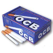 Empty Cigarette 1 BOX OCB 100 Filtered Cigarette Tubes