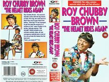 STAND-UP COMEDY VIDEO SLEEVE - ROY CHUBBY BROWN - THE HELMET RIDES AGAIN