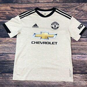Adidas Kids Boys MANCHESTER UNITED  Football Soccer Shirt Size UK 13-14 Yrs