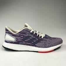 Adidas Original PureBoost DPR Purple Grey White Running Shoe Women Size 8 F36447