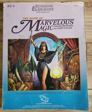 TSR Dungeons & Dragons Game Supplement The Book of Marvelous Magic
