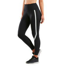 2XU Womens Fitness Hi-Rise Compression Tights Bottoms Pants Trousers Black